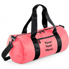 Personalised Studio Barrel Bag BG146